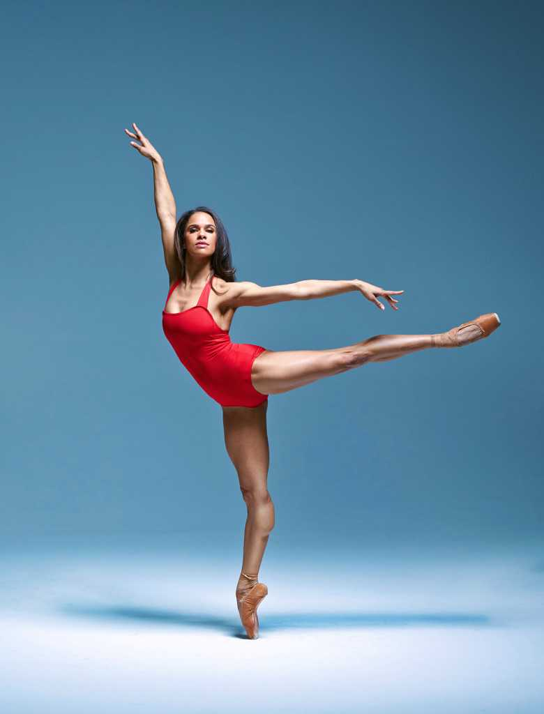 Misty Copeland - Ballet dancer for American Ballet Theatre (ABT). Photographed in New York 11/21/2014.